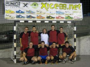 Ekipa, ki je nastopila na turnirju v Bovcu
