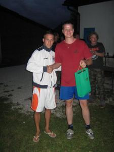 Najboljši strelec turnirja Jan Močnik (8 zadetkov)
