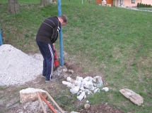 Podiranje odvečnih stebrov 2