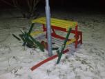 Otroška klop (po usodnem vetru)