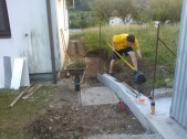 Betonaža mulde in zida_2