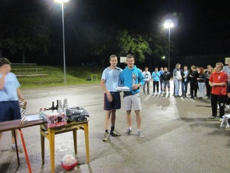 Vratar aktualnih futsal prvakov v kategoriji U-15 (KMN Oplast) je tokrat blestle v vratih Mlekarnce