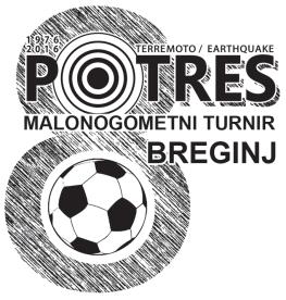 Logo 8. malonogometni turnir - Breginj 2016