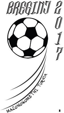 Logo 9. malonogometni turnir - Breginj 2017